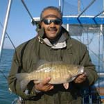 Lake Erie smallmouth fishing charter erie pa