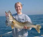Lake Erie walleye fishing charter walnut creek Pennsylvania